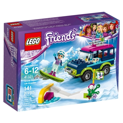 LEGO樂高 Friends系列 41321 滑雪渡假村越野車