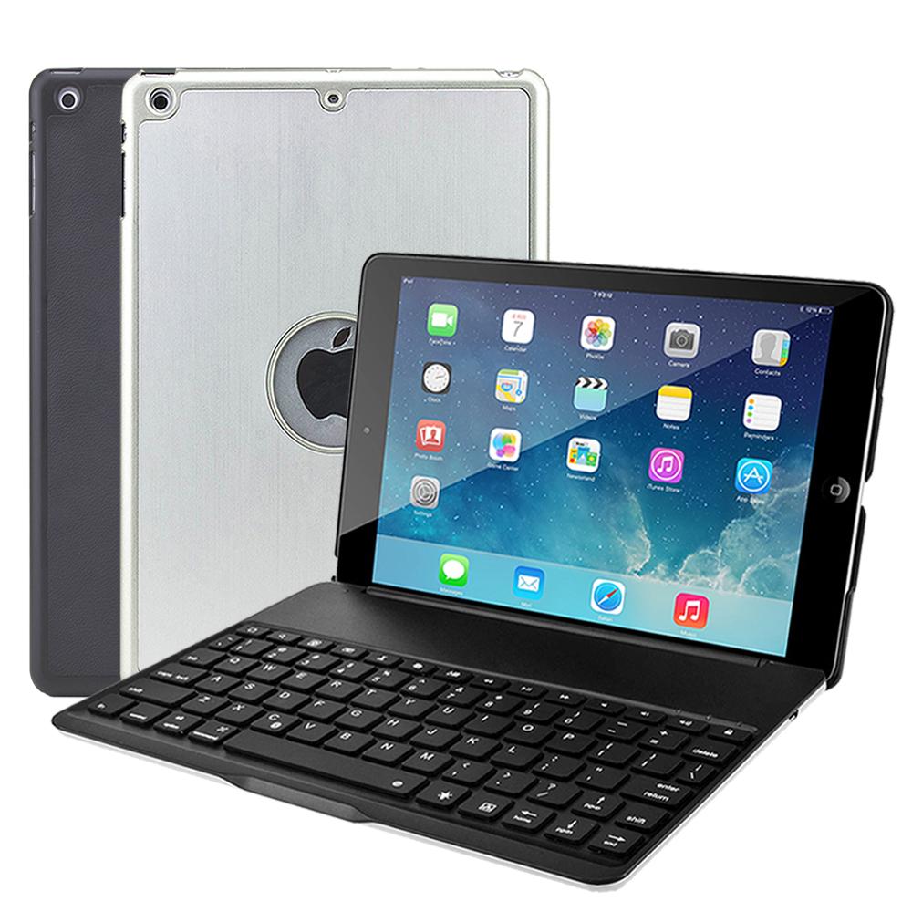 iPad(2017)/ Air 時尚型鋁合金藍牙鍵盤/筆電盒