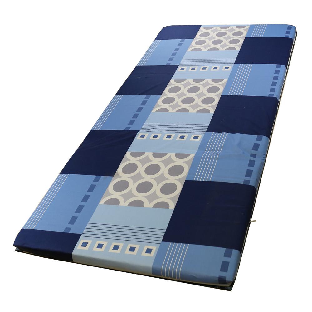 依文絲Aeneas 舒境藍天日式純棉中青便利床墊-單人3x6尺2