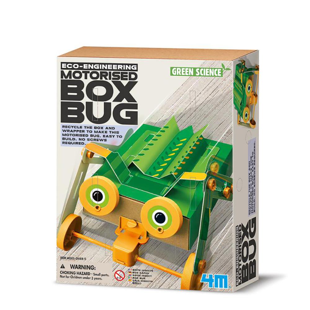 4M科學探索 - 出動!變形盒子機械蟲