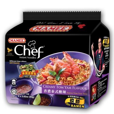 MAMEE金廚 泰式酸辣風味麵(80gx4入)