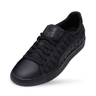 PUMA CLYDE 3DXRay v2FM男女復古籃球運動鞋-黑