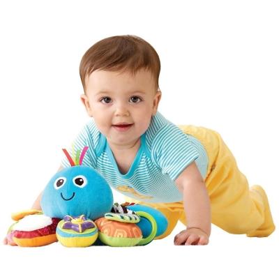 Lamaze拉梅茲嬰幼兒玩具 我的藍色八爪章魚
