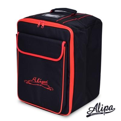 Alipa 台灣製造 木箱鼓 專用背袋-小尺寸(紅線款)(28cm以下適用)