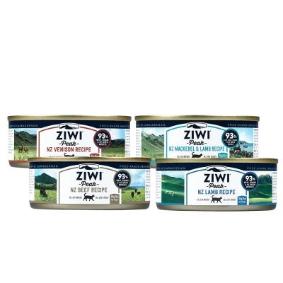ZiwiPeak巔峰 93%鮮肉貓罐頭85G*四種口味各二*