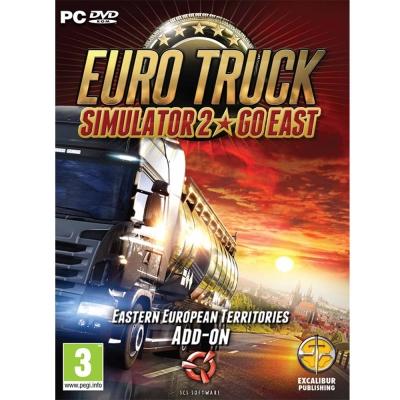 PC GAME 英文版 模擬歐洲卡車2 東歐 擴充版 Go East