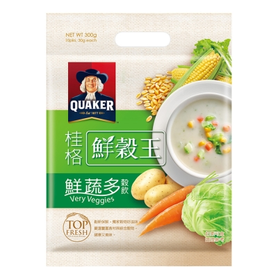桂格 桂格鮮穀王-鮮蔬多(30gx10入)