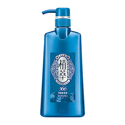 植萃566 無矽靈健髮洗髮露 茶樹抗屑型 -500g