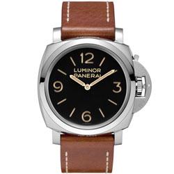 PANERAI 沛那海 PAM00372 LUMINOR 3日鍊手上鍊復刻腕錶-47mm