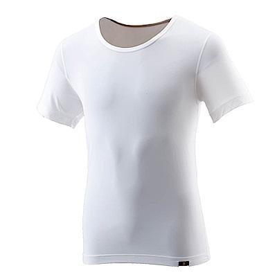 【Wildland 荒野】男TACTEL短袖排汗內衣-白