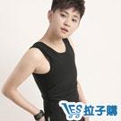 束胸 強力拉鍊款長版束胸泳衣(黑) LESGO束胸專賣