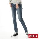 EDWIN 迦績褲JERSEYS X B.T牛仔褲-女-拔洗藍