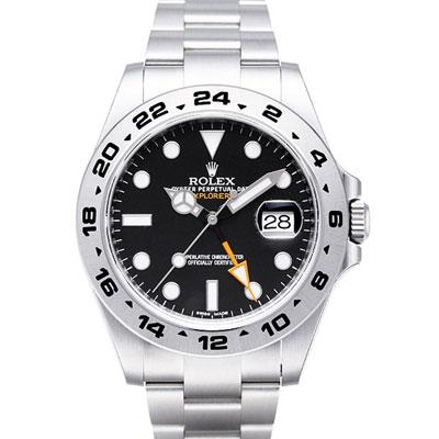 ROLEX 勞力士 Explorer II 216570 大探險家二號腕錶-黑/42mm