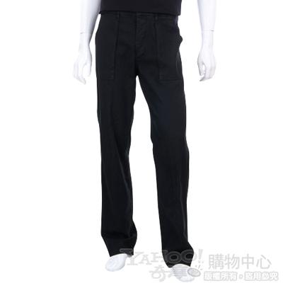 CERRUTI 1881 黑色口袋休閒長褲