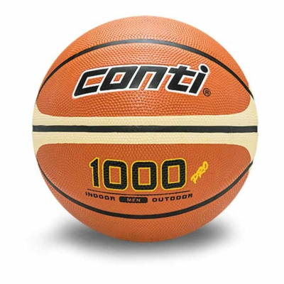 CONTI 1000專利經典系列 7號專利16片深溝橡膠籃球