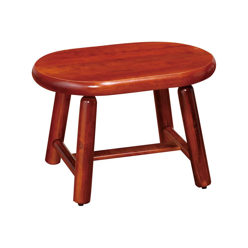 H&D 低實木雞蛋椅凳 (寬38X深26X高25cm)