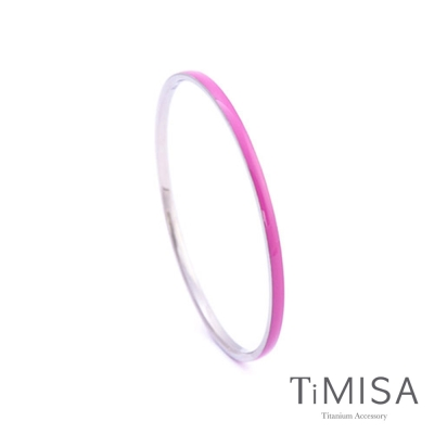 TiMISA《活力漾彩》純鈦手環(五色可選)