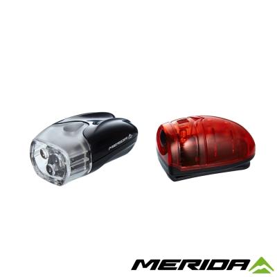 《MERIDA》美利達LED前後燈組-黑3013