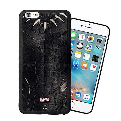 漫威授權 iPhone 6s Plus/6 Plus 黑豹電影版 防滑手機殼(齊...