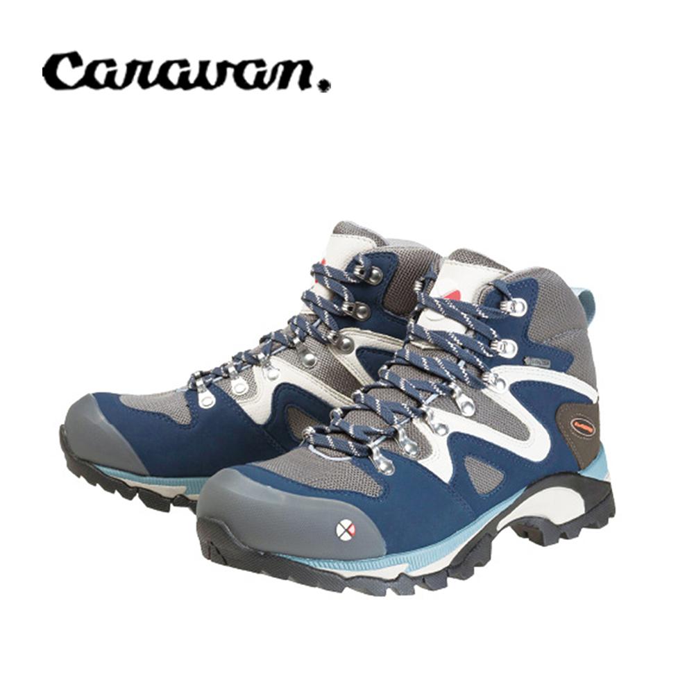 【caravan】C4_03S 戶外登山健行女鞋 海軍藍 0010403