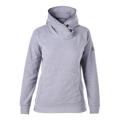 【Berghaus 貝豪斯】女款刷毛保暖連帽上衣H51FC2-白