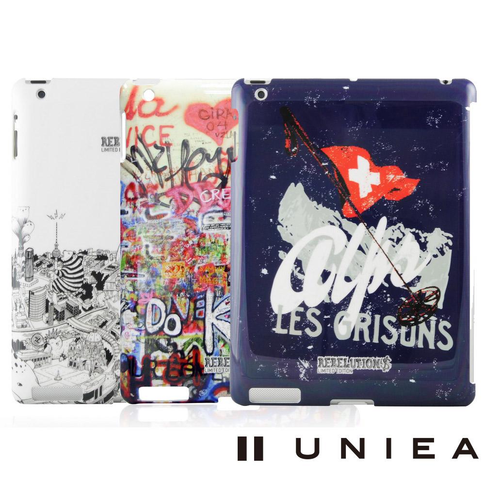 UNIEA REBELUTION 異想系列 New iPad 抗刮保護殼