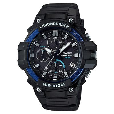 CASIO 多功能計時運動腕錶-MCW-110H-2AVDF-45mm