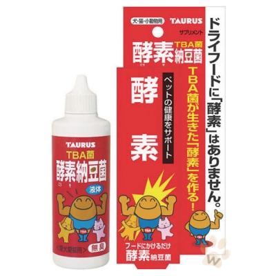 日本金牛座 犬貓用納豆菌酵素100ml 1入