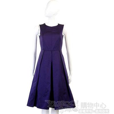 PIEIES UNIQUES紫色無袖洋裝