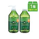 小獅王辛巴 奶瓶蔬果洗潔液800ml組合包一箱(6組)