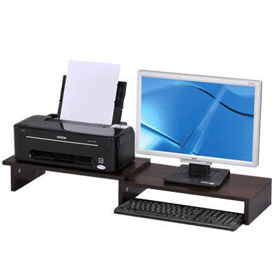 Design 桌上型螢幕伸縮架/置物架(二色)