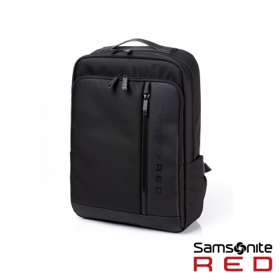 Samsonite-RED-DARKAHN學院英倫筆電雙肩後背包15-6吋-黑