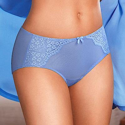 黛安芬-花漾輕塑系列平口內褲 M-EL(藍色海)
