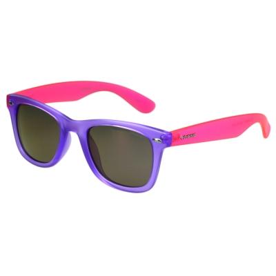 Polaroid 寶麗萊-偏光太陽眼鏡(紫色+反光鏡片)