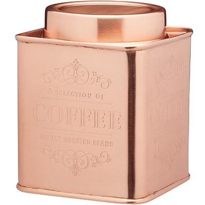 KitchenCraft 銅面咖啡密封罐
