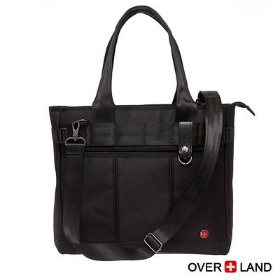 OVERLAND-美式十字軍x簡約直條質感扣環造型2WAYS包