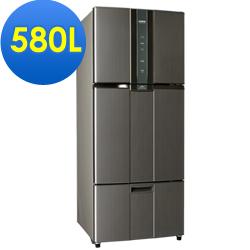 SAMPO聲寶 580L 1級變頻3門電冰箱 SR-A58DV(K2) 石墨銀