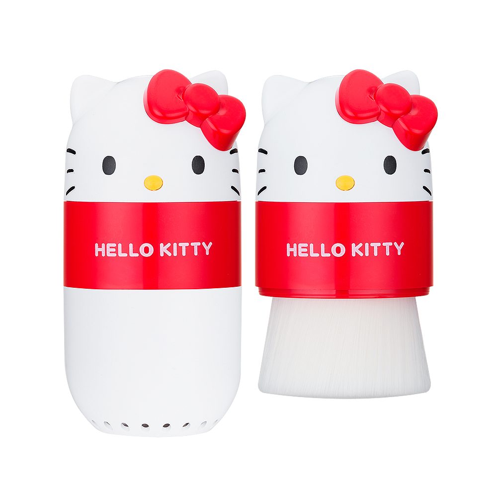Hello Kitty 毛孔潔淨刷(白)