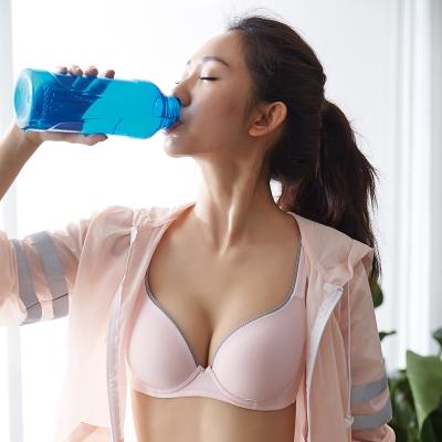 蕾黛絲-動氧Bra-輕鋼圈 D-E罩杯運動內衣(輕舞粉)