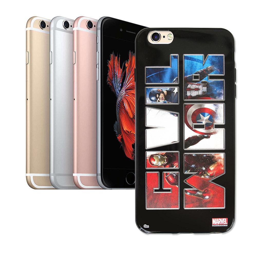 漫威 iPhone 6/6s plus 5.5吋 復仇者聯盟 美國隊長3 彩繪軟殼(隊長)