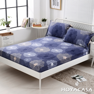 HOYACASA瑪拉奇 雙人親膚極潤天絲床包枕套三件組