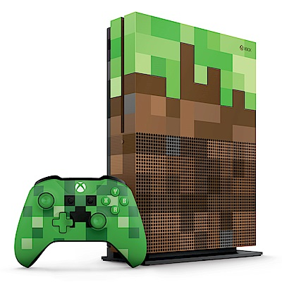 Xbox One S 1TB特別版我的世界同捆組(軟體拆封無鑑賞期)