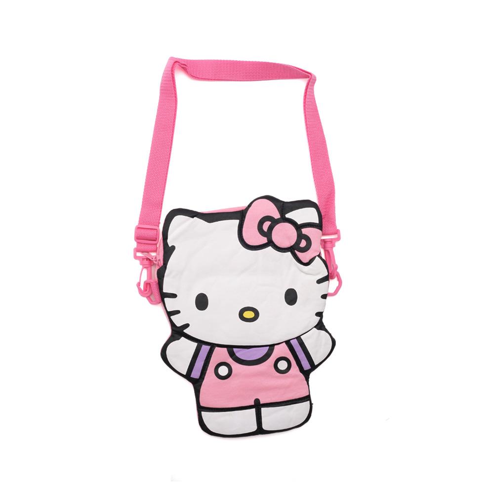 Sanrio HELLO KITTY人偶造型斜背袋
