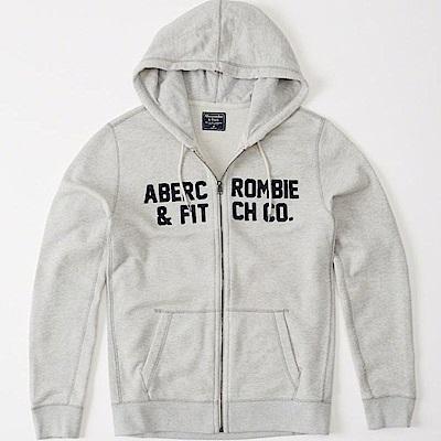 AF a&f Abercrombie & Fitch  連帽外套 白色 438