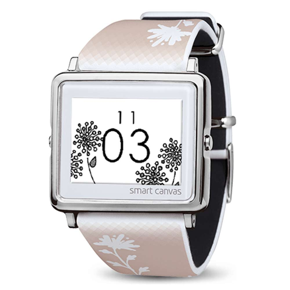 Smart Canvas 暖色向陽  電子紙腕錶