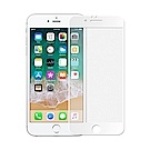 【SHOWHAN】iPhone6/6s 2.5D電競級霧面滿版滿膠鋼化玻璃貼 白色