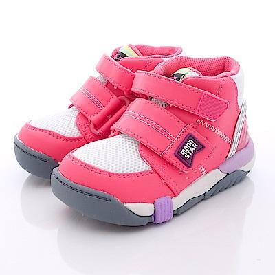 日本Carrot機能童鞋-護踝穩定款-TW1404粉(中小童段)T1#15