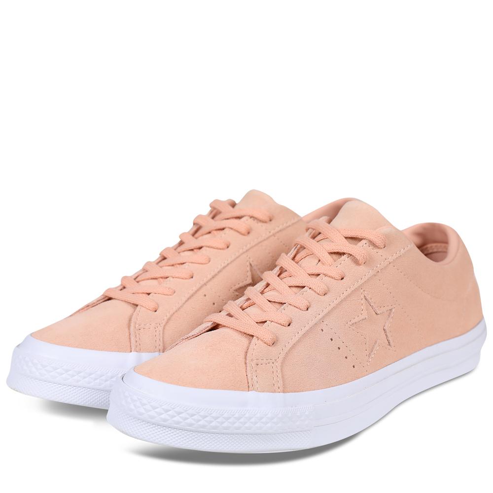 CONVERSE-女休閒鞋158481C-粉紅