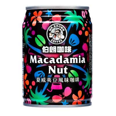 伯朗咖啡-夏威夷豆風味咖啡-240ml-6罐