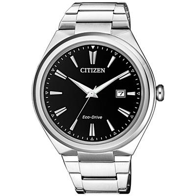 CITIZEN  純稚之心光動能日期腕錶-AW1370-51F-41mm